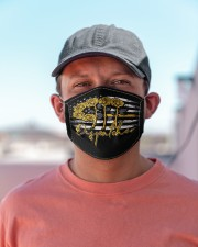 dispatcher 911 rose mas Cloth Face Mask - 3 Pack aos-face-mask-lifestyle-06