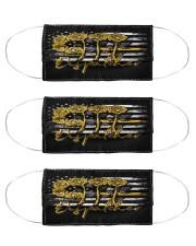 dispatcher 911 rose mas Cloth Face Mask - 3 Pack front