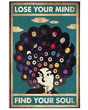 black girl vinyl poster  11x17 Poster front