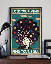 black girl vinyl poster  11x17 Poster lifestyle-poster-2