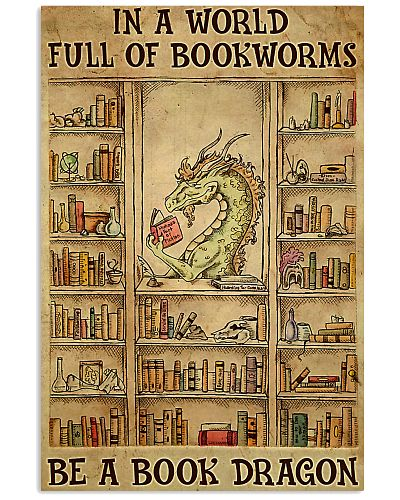 Be A Book Dragon poster