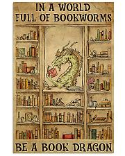 Be A Book Dragon poster 11x17 Poster front