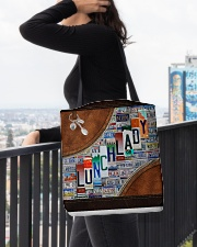 lunch lady tote plate lqt ntv All-over Tote aos-all-over-tote-lifestyle-front-05