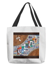 lunch lady tote plate lqt ntv All-over Tote back