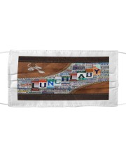 lunch lady tote plate lqt ntv Cloth face mask thumbnail