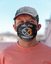 Carpenter not yelling mas  Cloth Face Mask - 3 Pack aos-face-mask-lifestyle-06