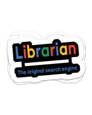 librarian original engine sticker Sticker - 6 pack (Horizontal) front