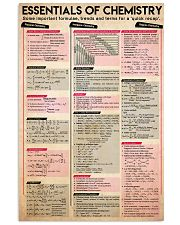 Essentials of chemistry 11x17 Poster front