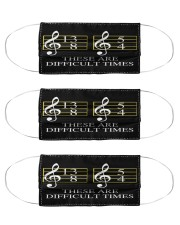 music teacher difficult time mas Cloth Face Mask - 3 Pack front