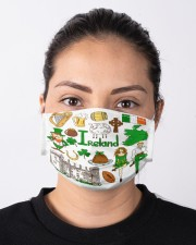 irland map mas  Cloth Face Mask - 3 Pack aos-face-mask-lifestyle-01