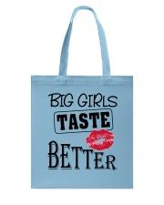 BIG GIRL TASTE BETTER Tote Bag thumbnail