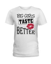 BIG GIRL TASTE BETTER Ladies T-Shirt thumbnail