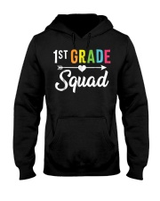 First 1St Grade Squad Back To School 1St Day Funny Hooded Sweatshirt thumbnail