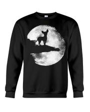 Mens Chihuahua And Moon Halloween T Shirt 3Xl Blac Crewneck Sweatshirt thumbnail