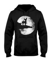 Mens Chihuahua And Moon Halloween T Shirt 3Xl Blac Hooded Sweatshirt thumbnail
