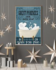 Bath Soap Company Great Pyrenees 11x17 Poster lifestyle-holiday-poster-1