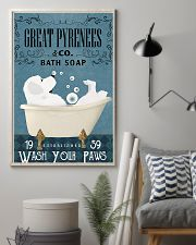 Bath Soap Company Great Pyrenees 11x17 Poster lifestyle-poster-1