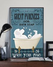 Bath Soap Company Great Pyrenees 11x17 Poster lifestyle-poster-2