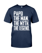 Papo - The Man - The Myth - V2 Classic T-Shirt front