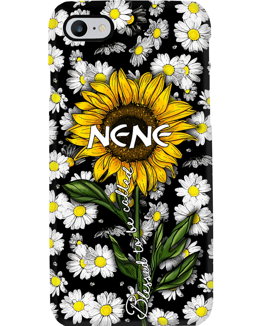 Blessed to be called  nene - Sunflower art Phone Case