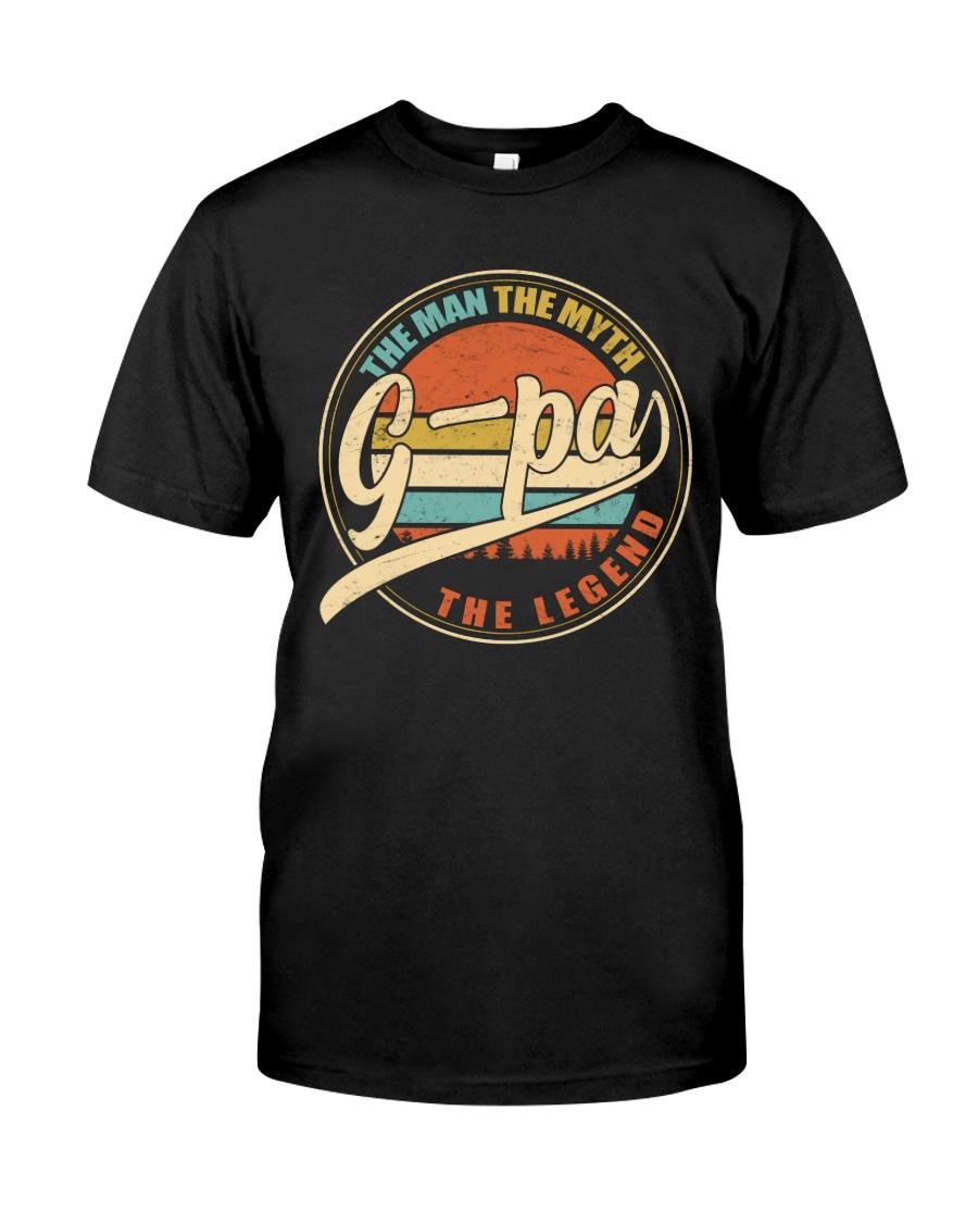 G-pa - The Man - The Myth Classic T-Shirt