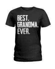 New - Best Grandma Ever Ladies T-Shirt thumbnail