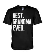 New - Best Grandma Ever V-Neck T-Shirt thumbnail