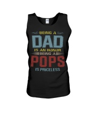 Being a Pops is priceless Unisex Tank thumbnail