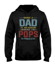Being a Pops is priceless Hooded Sweatshirt thumbnail