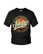 Like a Grandpa - Papa only cooler Youth T-Shirt thumbnail