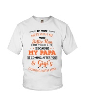 Papa and Gigi Youth T-Shirt front