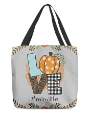 Love mimi life - Fall art fms All-over Tote thumbnail
