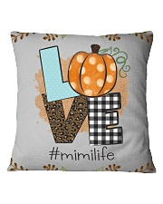 Love mimi life - Fall art fms Square Pillowcase thumbnail