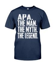 Apa  - The Man - The Myth - V2 Classic T-Shirt front