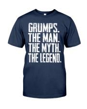 Grumps - The Man - The Myth - V2- Classic T-Shirt front