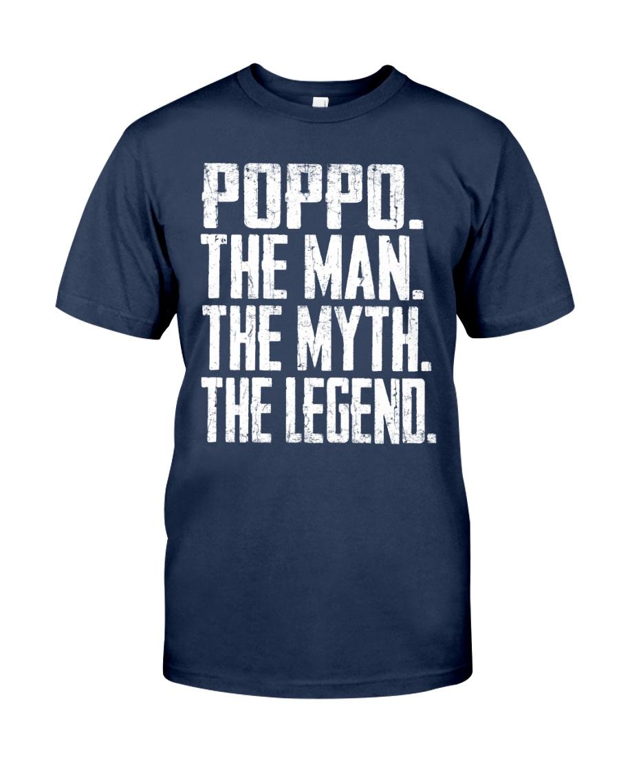 Poppo- The Man - The Myth - V2 Classic T-Shirt