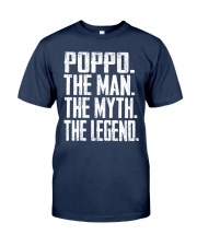 Poppo- The Man - The Myth - V2 Classic T-Shirt front