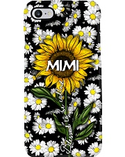 Blessed to be called  mimi - Sunflower art Phone Case i-phone-7-case