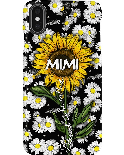 Blessed to be called  mimi - Sunflower art