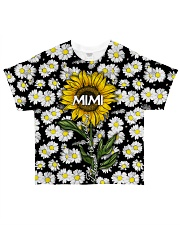 Blessed to be called  mimi - Sunflower art All-over T-Shirt thumbnail