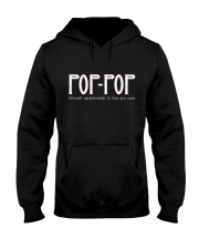 Pop-Pop because grandfather for old guy - RV4 Hooded Sweatshirt thumbnail