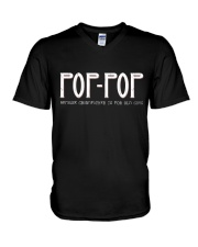 Pop-Pop because grandfather for old guy - RV4 V-Neck T-Shirt thumbnail