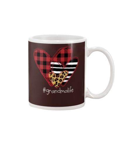 Love grandma life - three heart