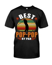 Best Pop-Pop By Par Premium Fit Mens Tee thumbnail