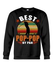 Best Pop-Pop By Par Crewneck Sweatshirt thumbnail