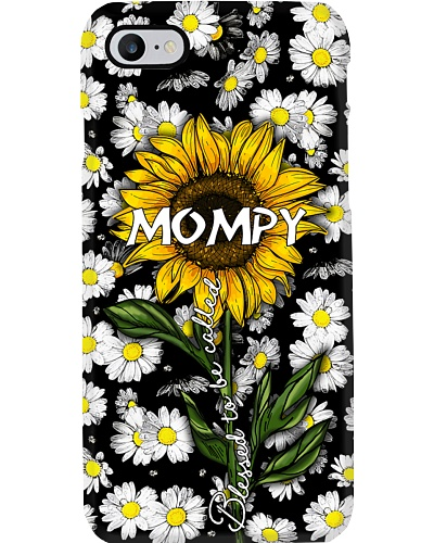 Blessed to be called MOMPY - Sunflower art