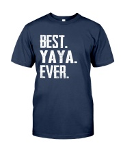 Best YaYa Ever - V1 Classic T-Shirt front