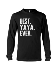 Best YaYa Ever - V1 Long Sleeve Tee thumbnail