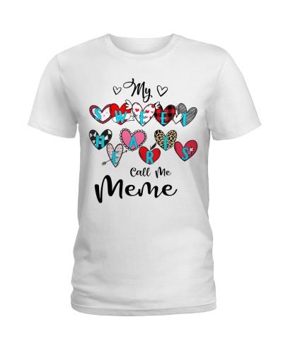 My Sweet hearts call me Meme