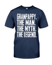Granpappy- The Man - The Myth - V2 Classic T-Shirt front